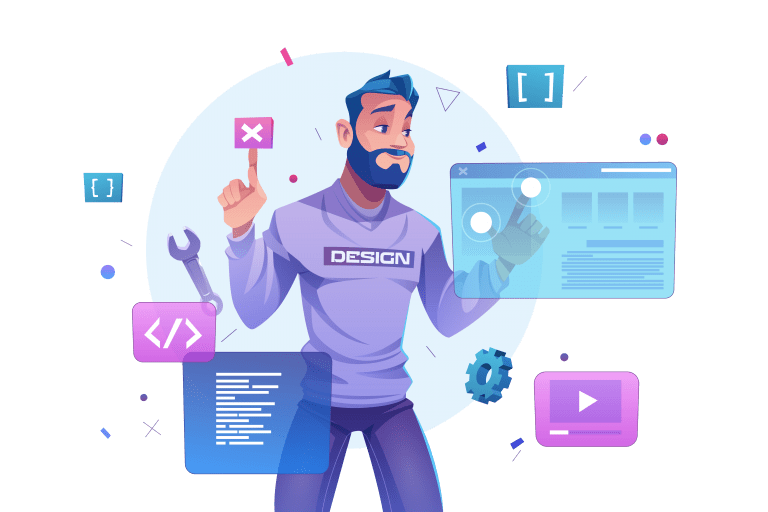 création visuelle et développement web