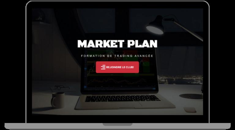 Site vitrine market plan
